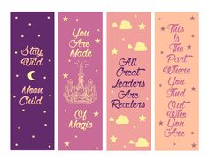 Free Printable Bookmarks, Bookmark Template, Bookmark Craft, Free Printables, Creative Bookmarks, Cute Bookmarks, Corner Bookmarks, Diy And Crafts, Paper Crafts