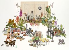 Homespun Philosphy - Collage