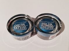 Maybelline Color Tattoo 24 Hour Eyeshadow Limited,100 Blue on By, Pack of 2 *** Read more reviews of the product by visiting the link on the image.