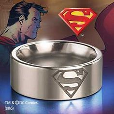 The Collector Zone has a comprehensive selection of science fiction, film and television merchandise. Collectable Star Wars, Harry Potter and Lord of the Rings products Superman Ring, Superman Wonder Woman, Superman Logo, Nerd Merch, Comic Book Wedding, Geek Fashion, Clark Kent, Man Of Steel, One Ring