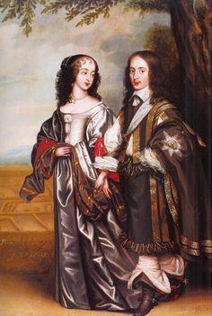 Prince Willem II of Orange, Stadholder of Holland, Zeeland, Utrecht, Guelders and Overijssel (The Hague May 27, 1626 – The Hague November 6, 1650), and Princess Mary Henrietta of Orange