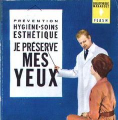 """A great vintage collection for the fan of """"Mad Men"""" ! When will a new edition be planned ? Je préserve mes yeux PUBLISHER Marabout DESIGNER Henri Lievens."""