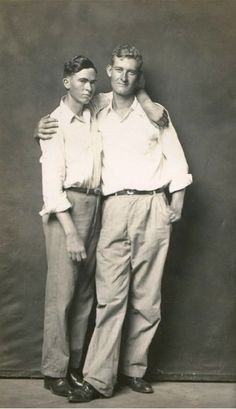 Billy and Vane, 1940s