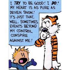 Calvin and Hobbes. Bill Watterson.
