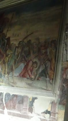 """Affresco"" inside Market Church"