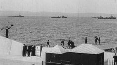 Archive: Warships in Belfast in 1914 - BBC News