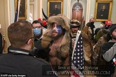 'I was duped by Trump!' QAnon Shaman 'regrets' participating in Capitol riot...