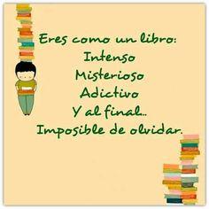 Eres como un libro