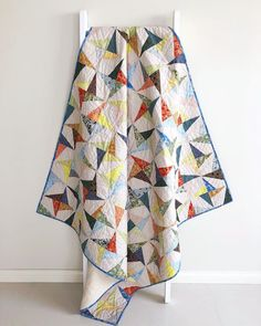 Confetti Quilt pattern by Tied with a Ribbon, Fabrics are Carolyn Freidlander - Gleaned.