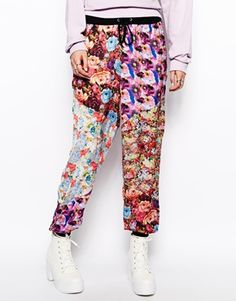 The Ragged Priest All Over Floral Track Pant