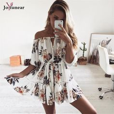 Barato 2017new floral da cópia do vintage mini vestidos sem mangas do ombro summer beach dress casual loose women dress belt vestidos, Compro Qualidade Vestidos diretamente de fornecedores da China: 2017new floral da cópia do vintage mini vestidos sem mangas do ombro summer beach dress casual loose women dress belt vestidos