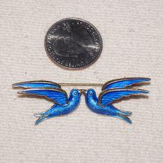 Theodor Olsens Bluebirds Pin