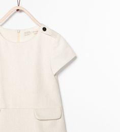 ZARA - ENFANTS - ROBE STRUCTURÉE POCHES À RABAT Zara Official Website, Polo Shirt, Polo Ralph Lauren, Crop Tops, Mens Tops, Shirts, Women, Fashion, Italy Wedding