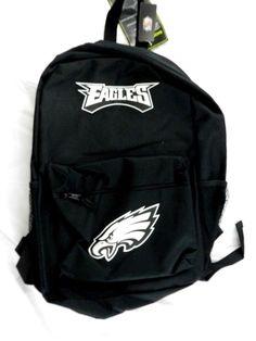 New Philadelphia Eagles BackPack Back Pack Book Bag School Sports Logo   PhiladelphiaEagles School Sports 9ee8d92e95f8d