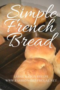 Simple Bread recipe, this bread is very versatile and easy to make. I make rolls, loaves, bread bowls, twists and many other loaf styles out of this one recipe. A great stand by recipe that makes a very large amount. www.fashionablyfr...