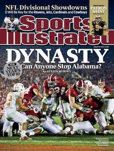 Bama Sports Illustrated Cover building a Dynasty! Crimson Tide Football, Alabama Crimson Tide, Alabama Football Quotes, College Football, Uofa Football, Football Crafts, Football Season, Bama Fever, Si Cover