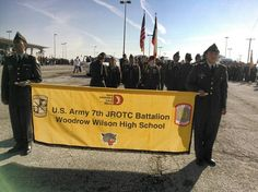 Woodrow Wilson High School Featured in Dallas Veterans Day Ceremonies and Parade