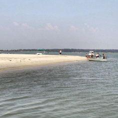 The Sandbar - Chincoteague Island, VA Oh The Places You'll Go, Places To Visit, Shrimp Boat, Chincoteague Island, Ocean City, Coastal Homes, Boats, Virginia, Pony