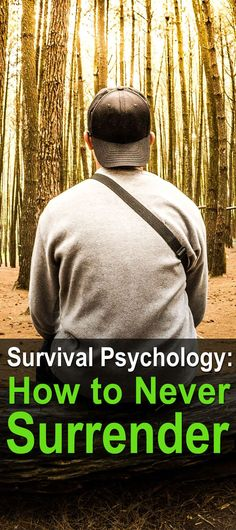 Survival psychology is a critical issue for anyone who wants to keep it together after SHTF, but first you have to learn how to handle everyday problems.