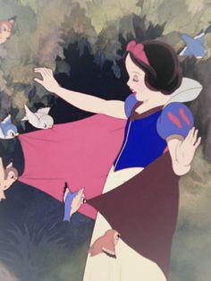 laurasaxby: Snow White and the Seven Dwarfs Disney Pixar, Walt Disney, Disney Films, Disney Fan Art, Disney Cartoons, Disney Animation, Disney Love, Disney Magic, Disney Characters
