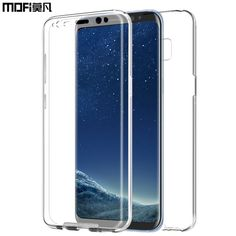 5.39$  Buy here - for Samsung S8 case soft silicon bumper 2 in 1 back front silicone galaxi 5.8 6.2 mofi clear coque for samsung s8 plus galaxy s8   #aliexpress