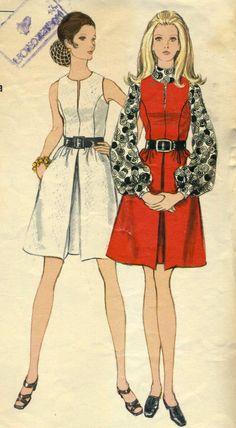 Vintage Vogue 7731 CUT Misses Dress or Jumper with by RomasMaison, $12.00