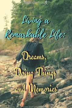 """A Remarkable Life Requires Action: 'Someday' Dreams Are Meaningless. Let's get real, if you want to live a remarkable life, then you will have to banish """"someday"""" dreams and start taking action. We create memories to cherish by our actions. #inspiration #motivation #travelinspiration #personaldevelopment #adventureinspiration Start Online Business, Colombia Travel, Hero's Journey, His Travel, Best Selling Books, Future Travel, Go Outside, Better Life, Woman Quotes"""