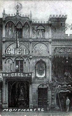 1903 L'Enfer on 53 Boulevard de Clichy in Monmartre... a french horror club