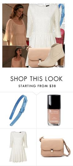 """Allison Argent-Lunar Ellipse"" by elenadobrev90 ❤ liked on Polyvore featuring Kate Spade, Episode, Chanel, Zara, UGG Australia, women's clothing, women, female, woman and misses"