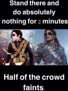 Yep that's Michael Jacksons fans right there