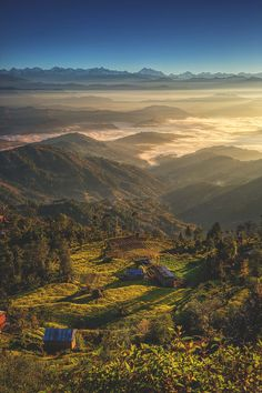 Nagarkot, Nepal | Mark Scott I will be easily convinced when someone tells me that i have reached HEAVEN when i reach this place.