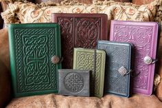 Oberon Design Leather Celtic Collection - Journals, Moleskines, Tech Covers, Wallets
