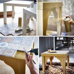 Vyše 20 inšpirácií, ako premeniť lacný IKEA stolík LACK! ;)