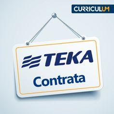 A TEKA está anunciando vagas no site. Candidate-se AQUI!