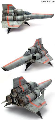 Battlestar Galactica: Colonial Viper, Modell-Bausatz ... https://spaceart.de/produkte/bsg001.php