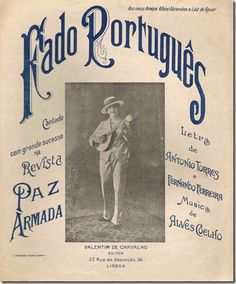 music sheet. Fado, which is a Portuguese tradition c: