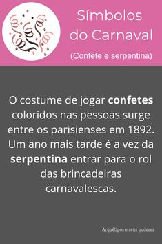Confete e Serpentina Sim, Symbols, Witchcraft Symbols, Carnival, Wicca For Beginners, Confetti, Birth Of Jesus, Angels And Demons, Magick
