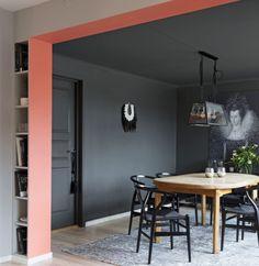 Colorful Interiors, Color Inspiration, New Homes, Wall Decor, Interior Design, Elegant, House, Furniture, Shelter