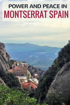 Montserrat Spain is one of the best day trips from Barcelona. It's also one of the most beautiful and peaceful locations in all of Spain. Click here to see why we were so taken with Montserrat!