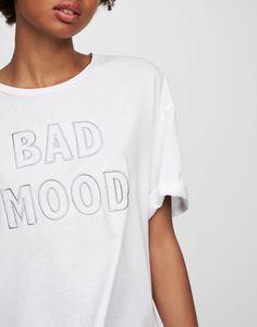 Camiseta texto - Camisetas - Ropa - Mujer - PULL&BEAR España