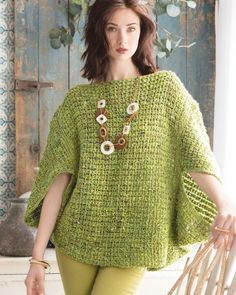 13 - Rhombus Poncho This design was featured in the 'Noro Magazine Tenth Issue' magazine (K-NOROMAG-10) which was introduced in the Spring/Summer 2017 season. Crochet Designed by Cristina Mershon using Noro Silk Garden Sock Solo #33