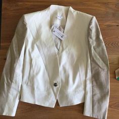 NEW! Helmet Lang Era jacket in newsprint shark Brand new with tags. I'd keep this but unfortunately this runs big to size so it doesn't fit right in me. That's me in the pics. I'm a size 6 but listing as an 8. Helmut Lang Jackets & Coats