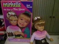 Today we are offering From the TV series FULL HOUSE, this is the Talking Michelle doll, based on the character played by twins, Mary-Kate and Ashley Olsen. Doll Toys, Dolls, Fringe Shirt, Mary Kate Ashley, Hair Setting, Dont Call Me, Ashley Olsen, Full House, Talk To Me