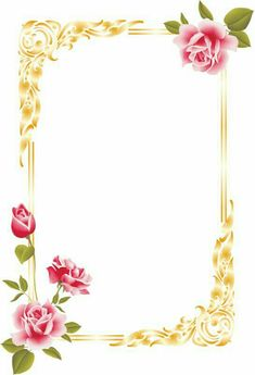 Boarder Designs, Frame Border Design, Page Borders Design, Photo Frame Design, Frame Wall Collage, Frames On Wall, Free Wedding Templates, Art Room Doors, Boarders And Frames