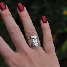Wedded Union ring with runes of love and binding on it.