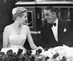 Princess Grace & Aristotele Onassis