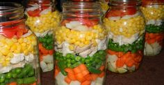 So I've been seeing alot of talk about this layered chicken soup in the canning groups and a few other blogs. Of course when you hear so man...