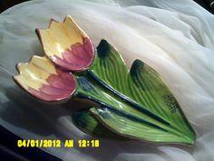 Tulips spoon rest