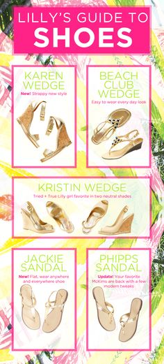 Lilly Pulitzer Gold Sandals/Wedges- must-have shoes for warm weather, so comfortable,