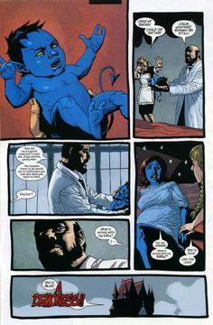 Nightcrawler and Mystique